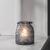 Windlicht Finja - Dunkelgrau, MODERN, Glas (14,3/16cm) - Mömax modern living