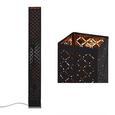 Állólámpa Elin - Nikkel/Arany, Lifestyle, Fém/Textil (15/118cm) - Mömax modern living