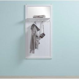 Garderobe Madalena - Weiß, MODERN, Holz (70/140/12cm) - Modern Living