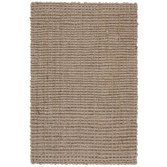 Handwebteppich Stockholm Grau, ca. 60x90cm - Grau, Basics, Textil (60/90cm) - Mömax modern living