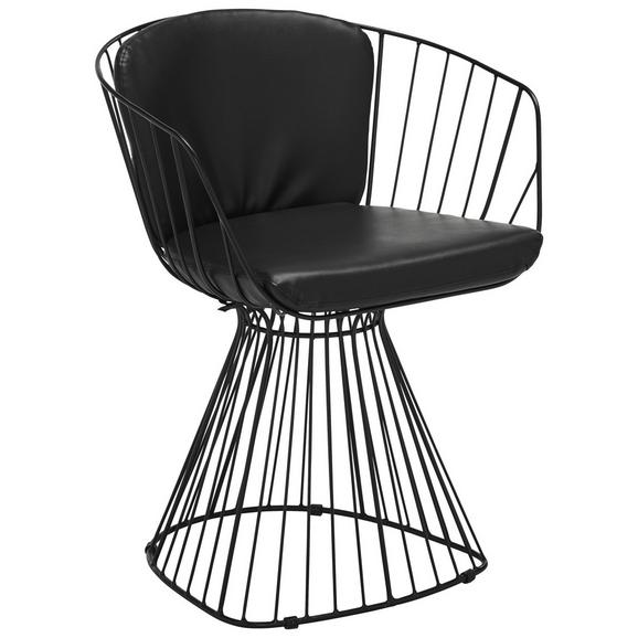 stuhl in schwarz online bestellen. Black Bedroom Furniture Sets. Home Design Ideas