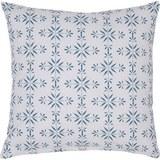 Díszpárna Agnes 01 - Fehér/Kék, modern, Textil (45/45cm) - Mömax modern living