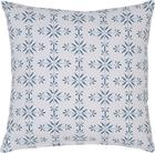 Okrasna Blazina Agnes 01 - modra/bela, Moderno, tekstil (45/45cm) - Mömax modern living