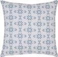 Zierkissen Agnes Blau/Weiß 45x45cm - Blau/Weiß, MODERN, Textil (45/45cm) - Mömax modern living