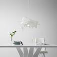 Hängeleuchte Ina max. 15Watt - Weiß, MODERN, Kunststoff (50/112cm) - Mömax modern living