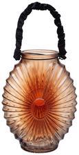Windlicht Elea Ø/h ca. 18,8/23,8 cm - Rot, MODERN, Glas (18,8/23,8cm) - Mömax modern living
