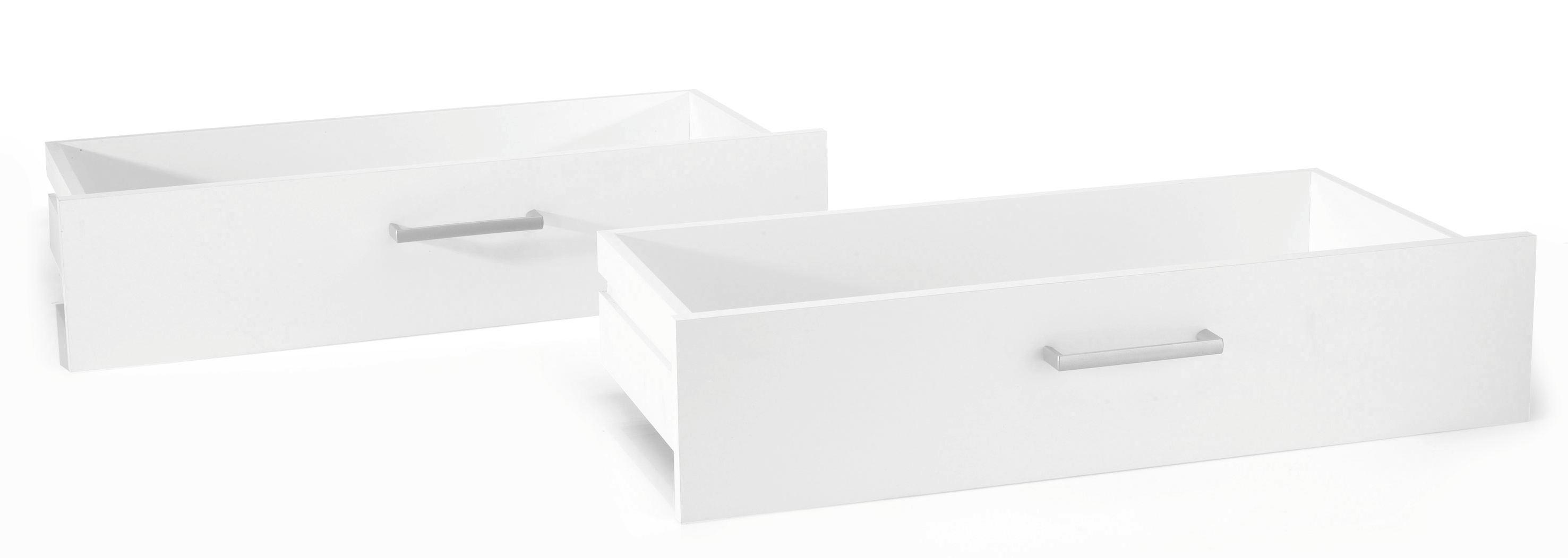 Set Predalov Fura/foxx - bela, leseni material (72/32/34cm)