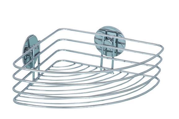 Duschregal aus Stahl - MODERN, Metall (26,5/10,5/20cm) - Mömax modern living