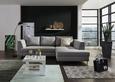 Sedežna Garnitura Mohito - srebrna/svetlo siva, Moderno, tekstil (280/196cm) - Premium Living