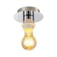 Mennyezeti Lámpa Lara - Ezüst, Fém (16/18cm) - Mömax modern living