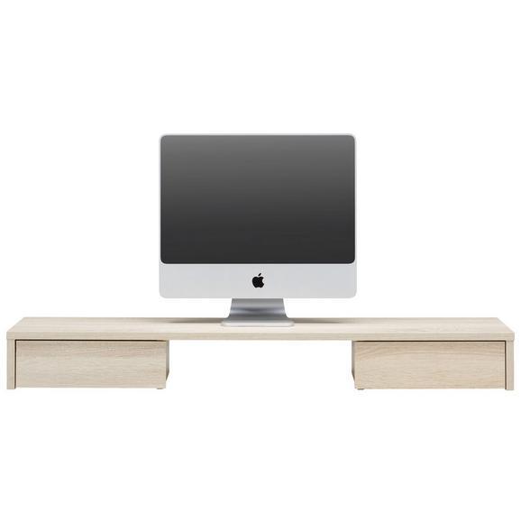 Schreibtischaufsatz In Eichefarben Online Kaufen Mömax