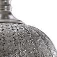 Pendelleuchte Alibaba - Silberfarben, Metall (30/30/75,5cm) - Bessagi Home