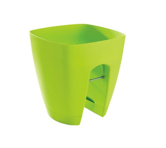 Übertopf Berkay - Blau/Pink, KONVENTIONELL, Kunststoff (29/29/30cm) - MÖMAX modern living
