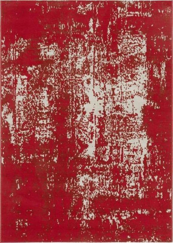 Webteppich Leeds in Rot ca. 80x180cm - Rot, LIFESTYLE, Textil (80/180cm) - Mömax modern living