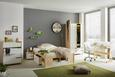 Drehstuhl Weiß - Chromfarben/Weiß, MODERN, Kunststoff/Textil (47/81-91/57,5cm) - Mömax modern living