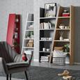 Regal Funny - bela, Konvencionalno, leseni material (42-76/190/33cm) - Mömax modern living