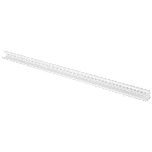 Wandhalter Weiß - Weiß, Metall (80/3,5/3,9cm) - Mömax modern living