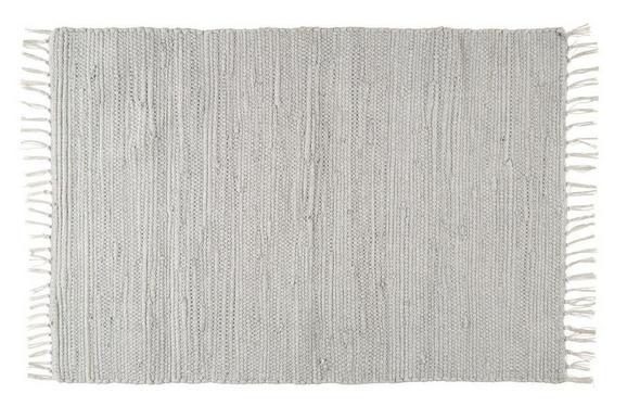 Fleckerlteppich Julia in Grau, ca. 60x90cm - Grau, ROMANTIK / LANDHAUS, Textil (70 130 cm) - Mömax modern living