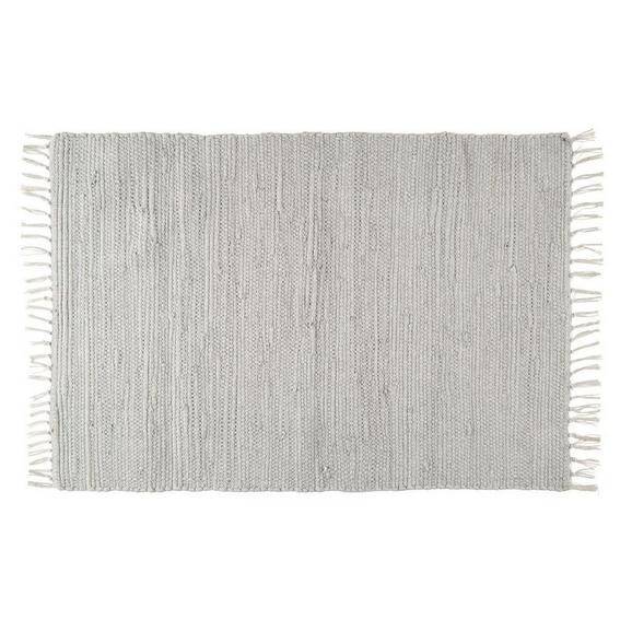 Fleckerlteppich JULIA in Grau, ca. 60x90cm - Grau, ROMANTIK / LANDHAUS, Textil (70/130cm) - Mömax modern living