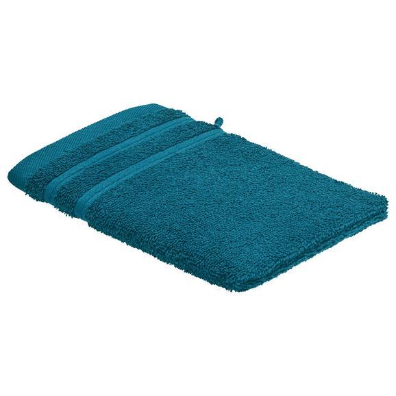 Rokavica Za Umivanje Melanie - petrolej, tekstil (16/21cm) - Mömax modern living