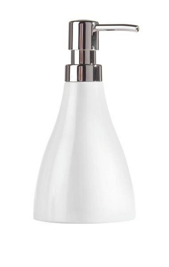Szappanadagoló Bella - fehér, konvencionális, műanyag (9,2/17,5/9,2cm) - MÖMAX modern living