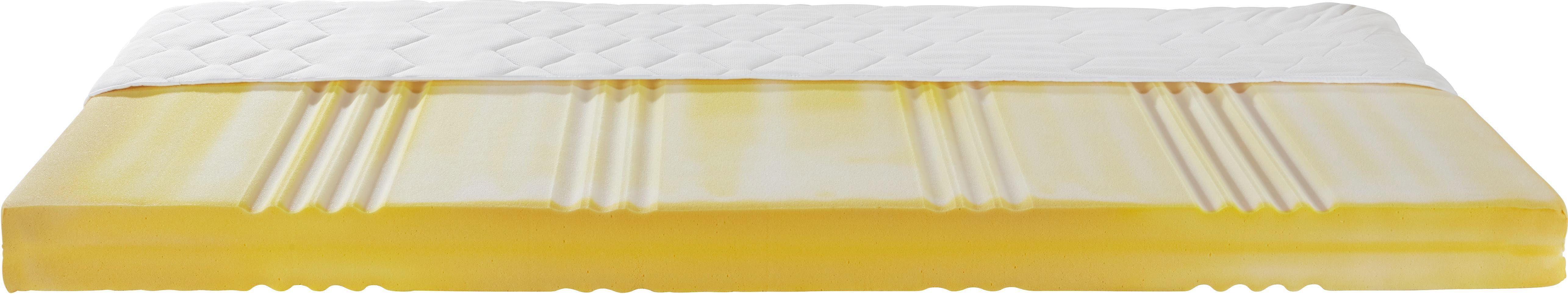 Kaltschaummatratze ca. 90x190cm - Textil (190/90/14cm) - NADANA