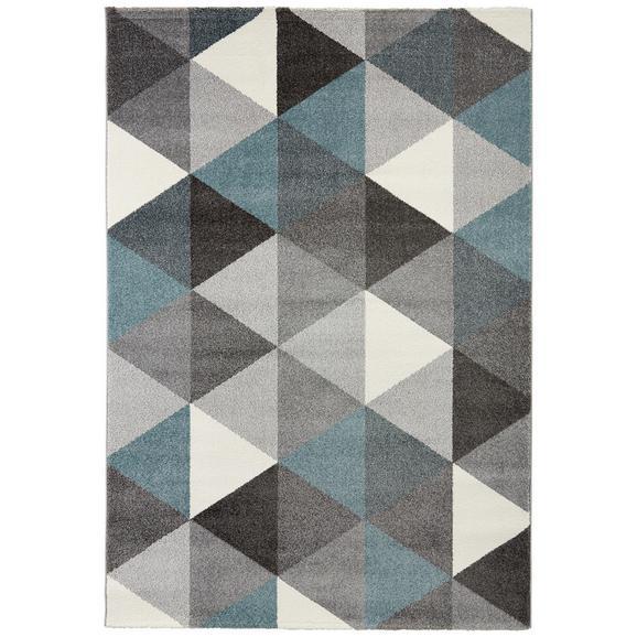 Tkana Preproga Rom 1 - modra/siva, tekstil (80/150cm) - Mömax modern living