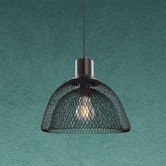 Pendelleuchte Loki - Schwarz, MODERN, Metall (25/120cm) - Modern Living