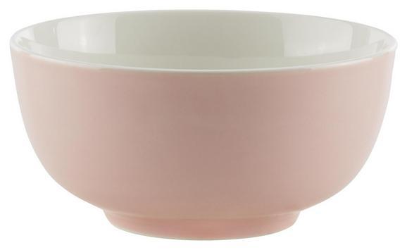 Müslischale Sandy Rosa aus Keramik - Pink, KONVENTIONELL, Keramik (13,7/6,6cm) - Mömax modern living