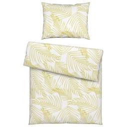 Posteljnina Laine Oro - zlata/bela, Moderno, tekstil (140/200cm) - Mömax modern living