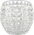 Teelichthalter Soraya in verschiedenen Farben - Klar/Rosa, Glas (10/8,5cm) - Mömax modern living