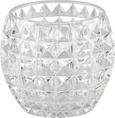 Teelichthalter Soraya verschiedene Farben - Klar/Rosa, Glas (10/8,5cm) - Mömax modern living