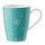Kaffeebecher aus Porzellan 30 ml ''X-Mas'' - Türkis/Weiß, KONVENTIONELL, Keramik - Vivo