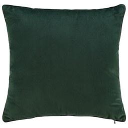 Samtkissen Malea ca.45x45cm - Dunkelgrün, MODERN, Textil (45/45cm) - Mömax modern living
