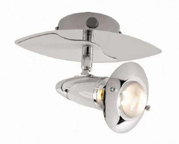 Reflektor Lord - bela/krom, Trendi, kovina (20cm) - MÖMAX modern living