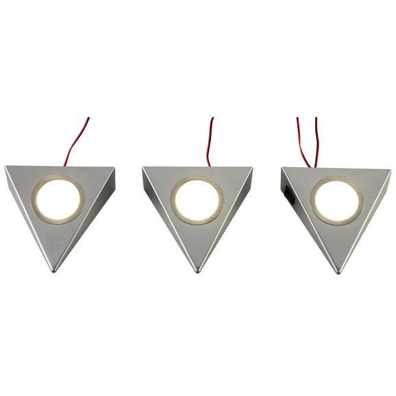 Unterbauleuchten-Set UL001-3 - LIFESTYLE, Metall (14,6/13,6/4,4cm)