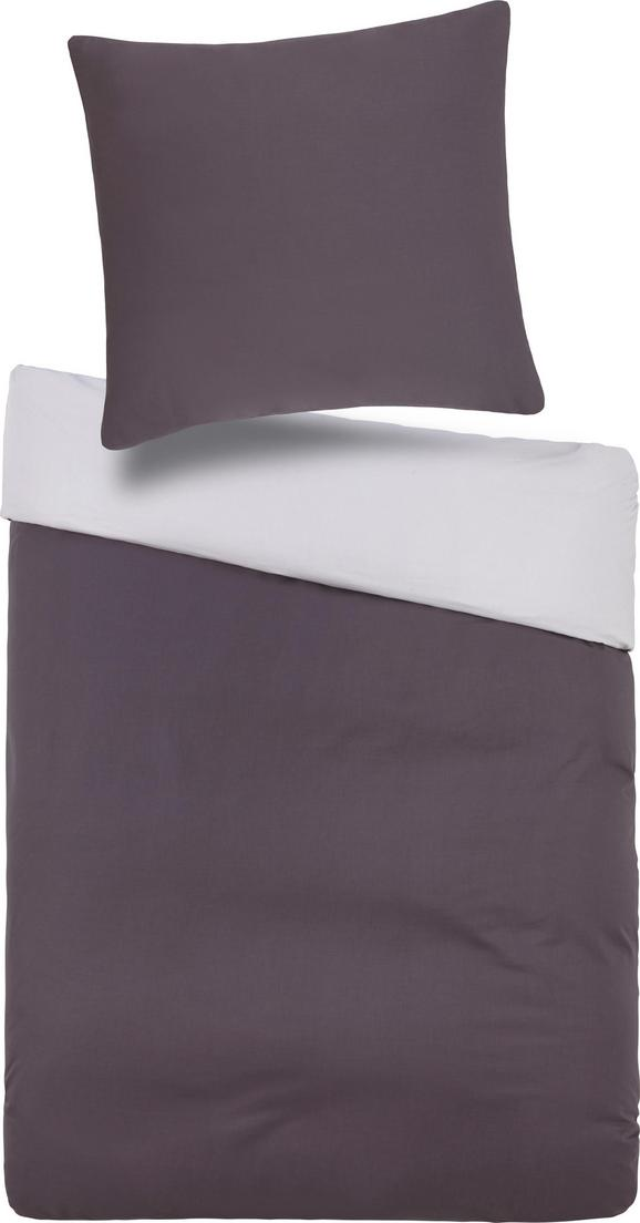 Bettwäsche Belinda ca. 135x200cm - Anthrazit/Hellgrau, Textil (135/200cm) - Premium Living