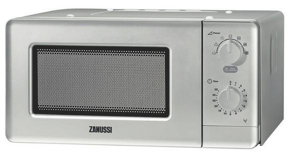 Mikrowelle Zanussi Zfm15100sa, 920 Watt - Silberfarben, MODERN (42,4/22,4/31,5cm) - Zanussi