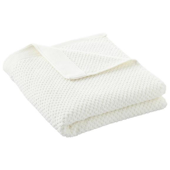 Handtuch Juliane Weiß - Weiß, Textil (50/100cm) - Premium Living