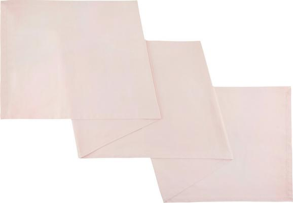 Tischläufer Steffi Altrosa - Altrosa, Textil (45/150cm) - Mömax modern living