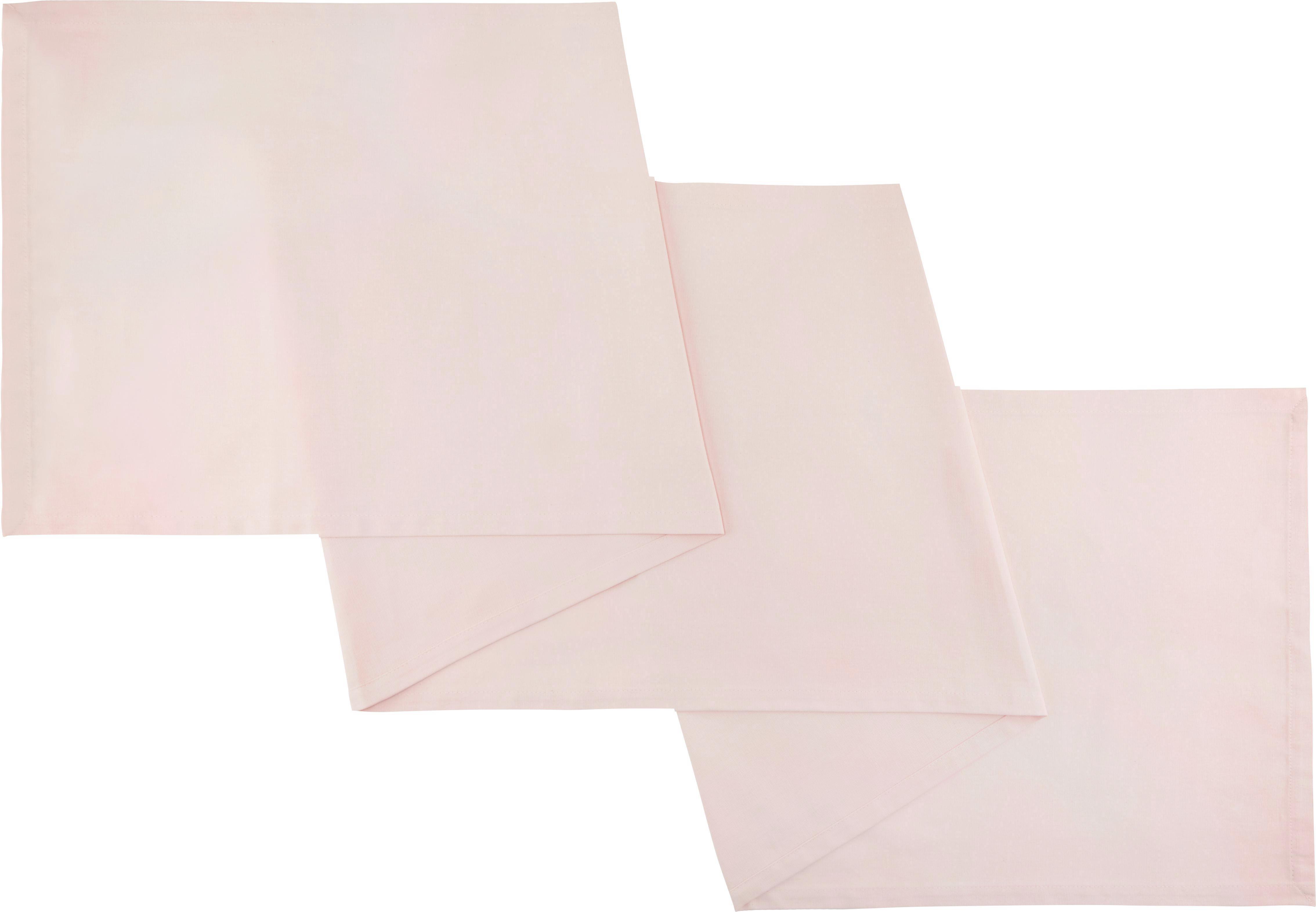 Tischläufer Steffi in Altrosa - Altrosa, Textil (45/150cm) - MÖMAX modern living