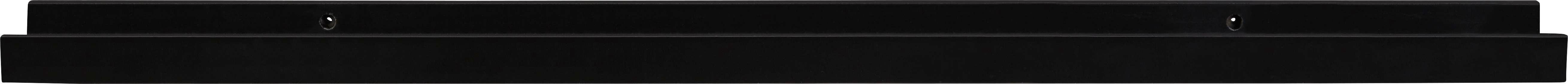 Wandboard in Schwarz - Schwarz (80/3/9cm) - MÖMAX modern living