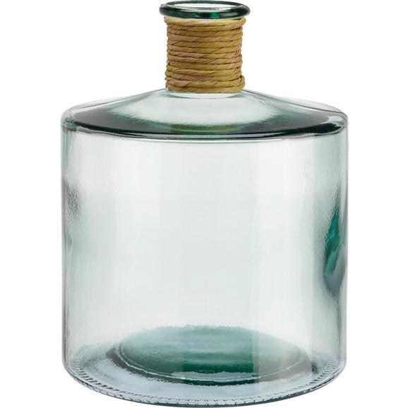 Vaza Klara - prozorna, steklo/naravni materiali (26cm) - Mömax modern living