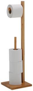 Toilettenpapierhalter Anni in Naturfarben - Naturfarben, MODERN, Holz (19/71/19cm) - Mömax modern living