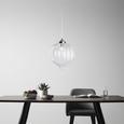 Hängeleuchte max. 60 Watt 'Claire' - Klar/Messingfarben, MODERN, Glas/Kunststoff (35/100cm) - Bessagi Home