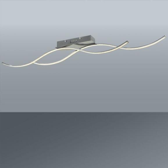 LED-Deckenleuchte Anne, max. 2x10,8 Watt - MODERN, Glas/Kunststoff (110/8/9cm) - Mömax modern living