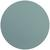 Tischset Jette aus Leder Ø ca. 40cm - Blau, Leder (40cm) - Premium Living