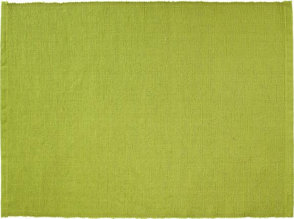 Pogrinjek Maren - zelena, tekstil (33/45cm) - Based