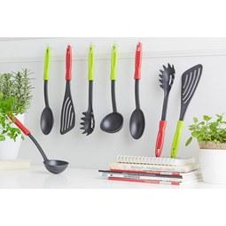 Set Kuhinjskih Pripomočkov Andrea - rdeča/črna, umetna masa - BASED