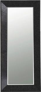 Fali Tükör Glamour -trend- - Fekete, modern (80/180/5cm)